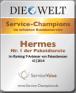 Die Welt: Service Champions im erlebten Kundenservice - 3Pagen Versand